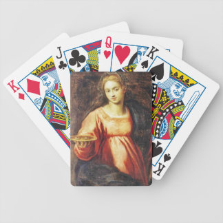 Saint Lucia (of Sweden and Italy) Bicycle Card Deck
