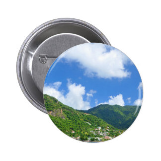 Saint Lucia Pinback Button