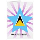 Saint+Lucia Star Card