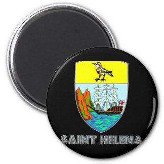Saint Lucian Emblem Fridge Magnet