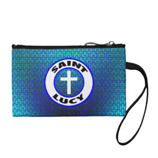 Saint Lucy Coin Wallet