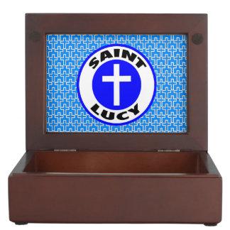 Saint Lucy Keepsake Box