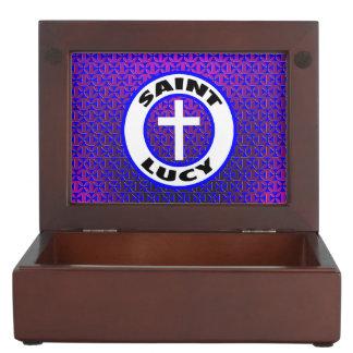 Saint Lucy Memory Box