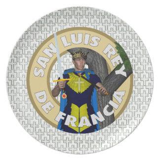 Saint Luis Rey De Francia Melamine Plate