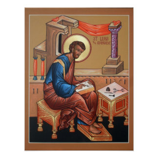 Saint Luke the Evangelist Poster