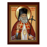 Saint Luke the Surgeon Prayer Card Post Cards