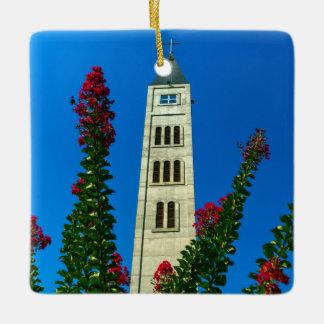 Saint Luke tower in Mostar, Bosnia and Herzegovina Ceramic Ornament