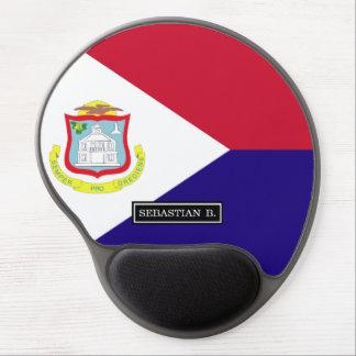 Saint Maarten Flag Gel Mouse Pad