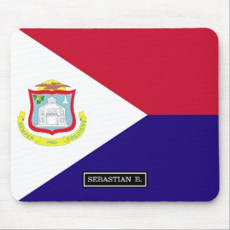 Saint Maarten Flag Mouse Pad