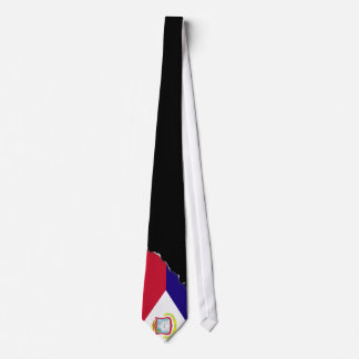 Saint Maarten Flag Neck Tie