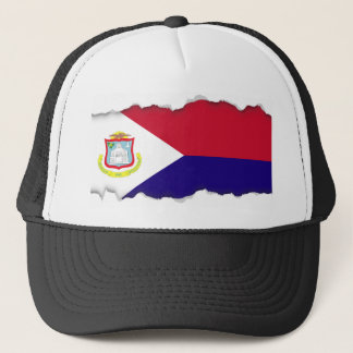Saint Maarten Flag Trucker Hat