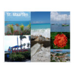 Saint Maarten Photo Collage by Khoncepts Post Cards