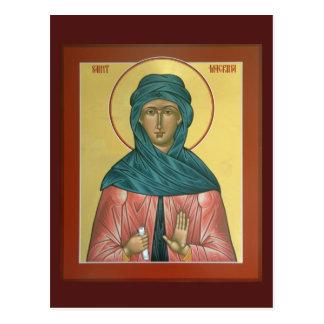 Saint Macrina Prayer Card