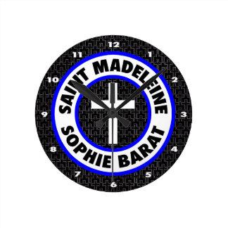 Saint Madeleine Sophie Barat Round Clock