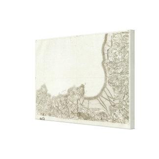 Saint Malo, Granville Canvas Print