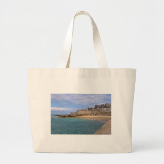 Saint-Malo in France Large Tote Bag