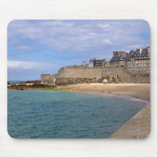 Saint-Malo in France Mouse Pad