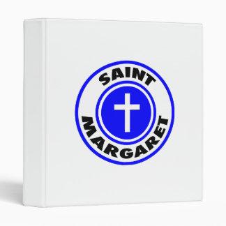 Saint Margaret 3 Ring Binder