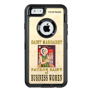 SAINT MARGARET (Patron Saint of Business Women) OtterBox Defender iPhone Case