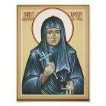 Saint Maria of Paris Icon Print Photo Print