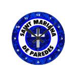 Saint Mariana De Paredes Wall Clock