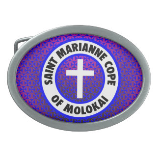 Saint Marianne Cope of Molokai Belt Buckle