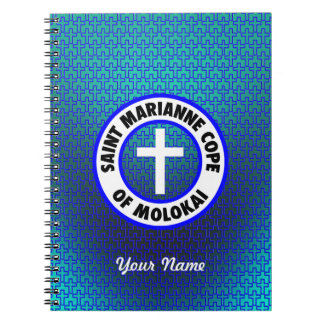 Saint Marianne Cope of Molokai Spiral Note Books