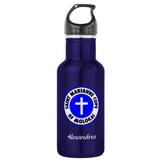 Saint Marianne Cope of Molokai 18oz Water Bottle