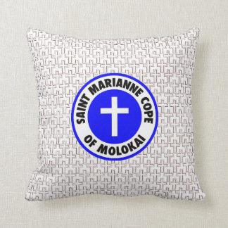 Saint Marianne Cope of Molokai Throw Pillows