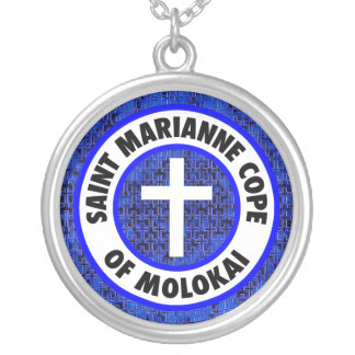 Saint Marianne Cope of Molokai Silver Plated Necklace