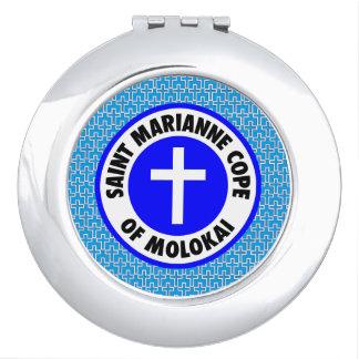 Saint Marianne Cope of Molokai Vanity Mirror