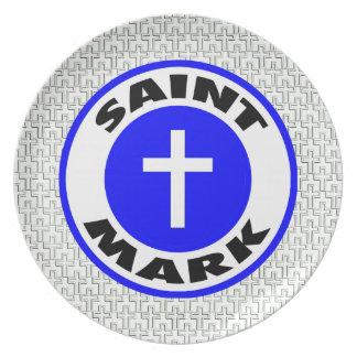 Saint Mark Dinner Plate