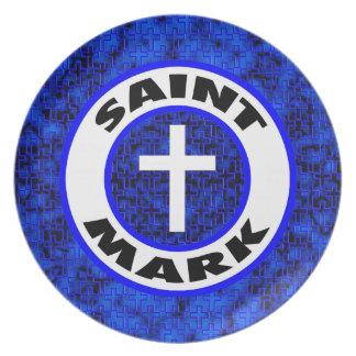 Saint Mark Plate