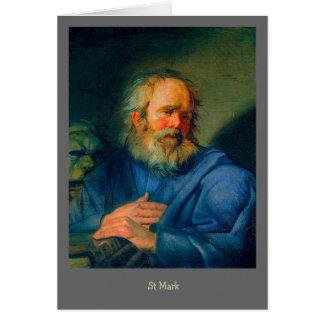 Saint Mark – Portrait of an Evangelist Card
