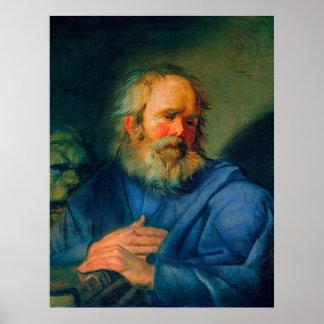 Saint Mark – Portrait of an Evangelist Poster