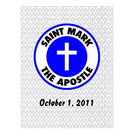 Saint Mark the Apostle Postcard