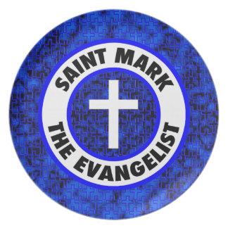 Saint Mark the Evangelist Dinner Plate