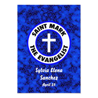Saint Mark the Evangelist Invite