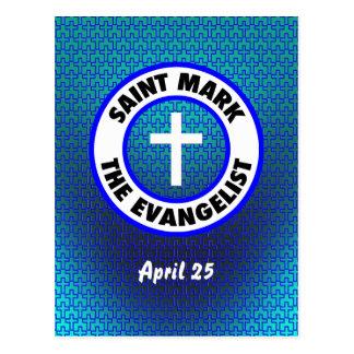 Saint Mark the Evangelist Postcard