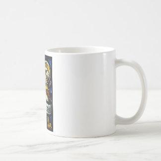 Saint Mark The Evangelist Stained Glass Art Coffee Mug
