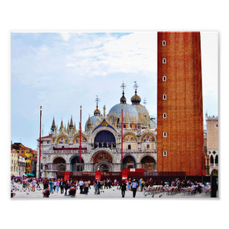 Saint Mark's Square, Venice Art Photo