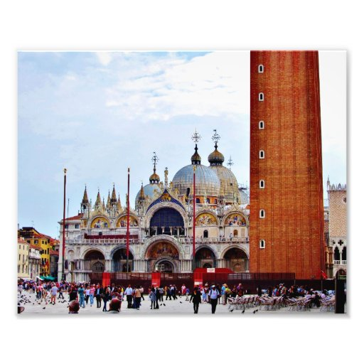 Saint Mark's Square, Venice Photo Print