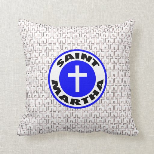 Saint Martha Pillow