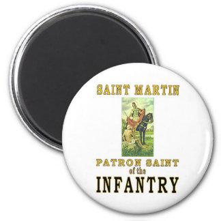 SAINT MARTIN 2 INCH ROUND MAGNET