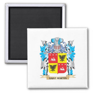 Saint-Martin Coat of Arms - Family Crest Magnet