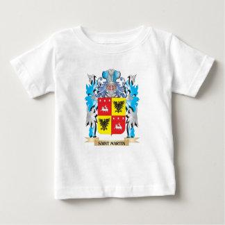 Saint-Martin Coat of Arms - Family Crest T Shirt