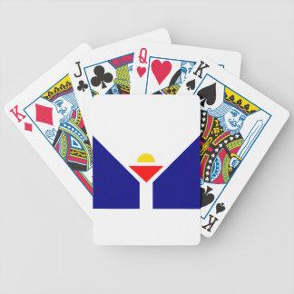 saint-martin-Flag Bicycle Playing Cards