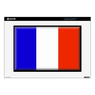 "Saint Martin Flag 15"" Laptop Skin"