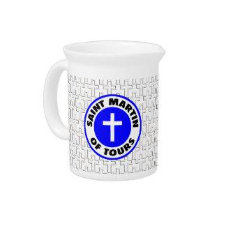 Saint Martin of Tours Beverage Pitcher