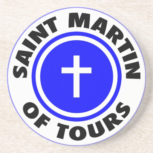 Saint Martin of Tours Drink Coasters